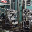 新型ノートのエンジンを生産する愛知機械
