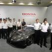 2013年のホンダのSUPER GT陣容。マシンはHSV-010 GT。
