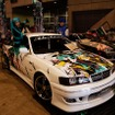 イベントの華、痛車も展示。