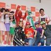 埼玉県にある自動車教習所ファインモータースクールは、タレントのアッキーナを招いて若者にクルマの魅力を伝えるイベントを開催