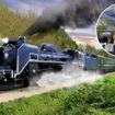釜石線で運転される予定の「SL銀河鉄道(仮称)」のイメージ。