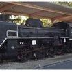 岩手県営運動公園で保存されていたC58形蒸気機関車の239号機。現在は動態復元に向けた作業が行われている。