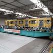 昨年の「電車フェスタ in 武蔵丘」で実施されたトラバーサーの乗車体験。