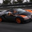 量産オープンカーの世界最高速記録となる408.84 km/hを計測したブガッティヴェイロン16.4 グランスポーツ ヴィテッセ(参考画像)