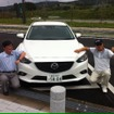 マツダ アテンザ SKYACTV-D 6MTでの1000マイル無給油チャレンジ