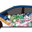 TOYAKOマンガ・アニメフェスタ公式キャラクターのラッピング車イメージ