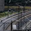 スペイン高速列車事故の現場カーブ