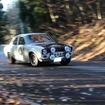 アルペン・クラシックカー・ラリー2012で2位となったフォード・エスコートRS
