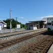 石巻線の前谷地駅。新たに設定される仙台近郊区間の駅になる。