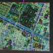 住宅地図データの表示例