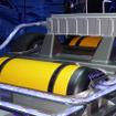 高効率な高圧水素タンクを2本に分けて搭載し、スペース効率を向上させた