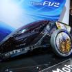 CES会場では一人乗り用コンセプトカー「FV2」も出展された