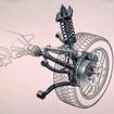三菱 ランサー エボリューション IV リアサスペンション
