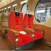 赤い50000系の5号車(スーパーシート)には映画「ガンダムUC」に登場するキャラクターの「専用席」が設けられる。
