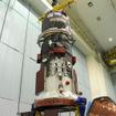 打上げ準備が進められているプログレス補給船(55P)(3月31日、cS.P.Korolev  RSC Energia)