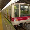 東京メトロと東武鉄道は、相互直通運転する日比谷線と東武スカイツリーライン(伊勢崎線)に新型車両を導入すると発表。写真は現在日比谷線乗り入れに使用されている東武20000系