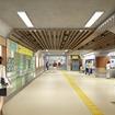 駅舎のリニューアルも推進する。画像は清水公園駅のリニューアル後のイメージ。