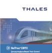 タレスはCBTCに関する世界的な大手メーカーで、同社の都市鉄道用システム「SelTrac」は各国の地下鉄やモノレール、新交通システムで使用されている。写真は同社の都市鉄道用システム「SelTrac」のパンフレット表紙。