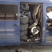 ハンガリー国境の検問でVWの商用バンの荷台から発見されたBMW X6