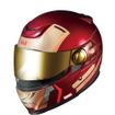 アイアンマンとコラボしたシステムヘルメット「アイアンマン-01」