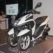 ヤマハは同社初の三輪ATバイク トリシティMW125を発売した