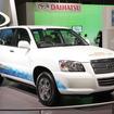トヨタの燃料電池試作車 FCHV-adv