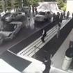 インドの高級ホテルで起きたランボルギーニガヤルドの事故