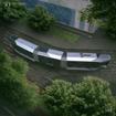 ロシアのメーカーが開発した新型路面電車「Russia One」。最小通過カーブは15m