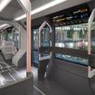 ロシアのメーカーが開発した新型路面電車「Russia One」の室内