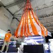 爆笑問題・田中も「すごい!」というアポロ17号の実物パラシュート