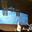 ISS日本実験棟「きぼう」の形状を「茶筒」と紹介