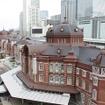 まもなく開業100周年を迎える東京駅の丸の内駅舎。
