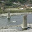 高千穂線は2005年の水害で橋りょう流出の被害を受け、2008年までに全線が廃止された。