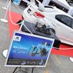 スバルWRX専用設計のソニックデザインスピーカーセット。会場ではその製品も展示された。