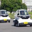 「超小型EVにサクサク乗ってみませんか」オープニングセレモニー