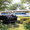 新通町公園(静岡県富士市中央町)にある0系や台車。