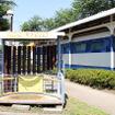 新通町公園(静岡県富士市中央町)にある0系やレールチャイム。