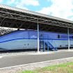 鉄道総合技術研究所・風洞技術センター(滋賀県米原市梅ケ原)にある300X、STAR21、WIN350など。