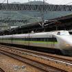 東海道新幹線を引退し、山陽新幹線で活躍していたころの100系。