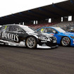 V8 Supercars  Nissan and Volvo