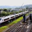 常磐線の特急列車も日中を中心に品川駅発着になる。写真は常磐線の特急列車で運用されているE657系電車。