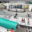 新館1階の「仕事」ステーションのイメージ。E5系や400系を展示する。