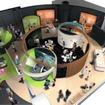 「ラーニングゾーン」の2・3階は「科学」ステーションとしてリニューアルされる。