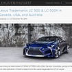 レクサスがLC500、LC500hの名前を商標登録したと伝えた「LEXUS ENTHUSIAST」