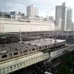 総武快速線の電車留置線がある錦糸町駅