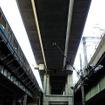 新幹線と京浜東北・山手線の間に建つ上野東京ライン