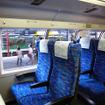 湘南新宿ラインのグリーン車。上階の座席