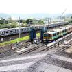 グリーン車を連結した常磐線E531系電車(水戸付近)