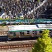 湘南新宿ラインが駆け抜ける山手貨物線(渋谷付近)