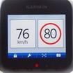 オービスに接近すると、その場所の法定速度と、リアルタイムな走行速度が表示される。GPS搭載だからそこ可能な機能だ。